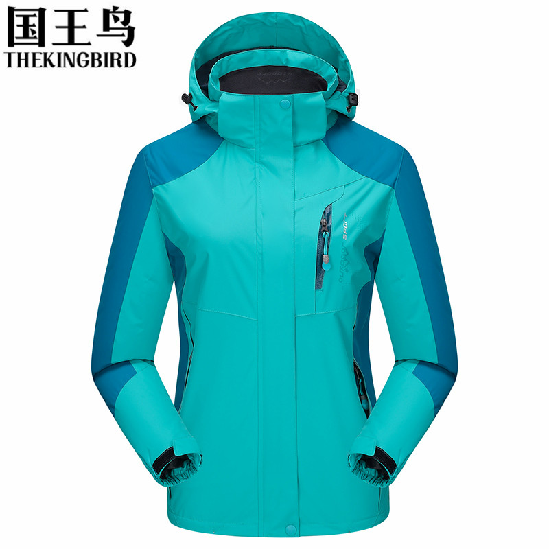где купить Women Outdoor Hiking Jackets Spring Autumn Breathable Sport Climbing Jacket Windproof Waterproof Jacket Trekking Coat 86009B по лучшей цене