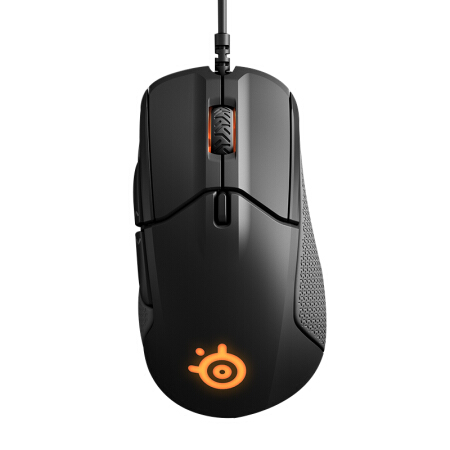 SteelSeries Rival 310 RGB USB Optical Gaming Wired Mouse with 6500 CPI Split-Trigger Buttons CSGO FPS for Windows Linux LOL цена