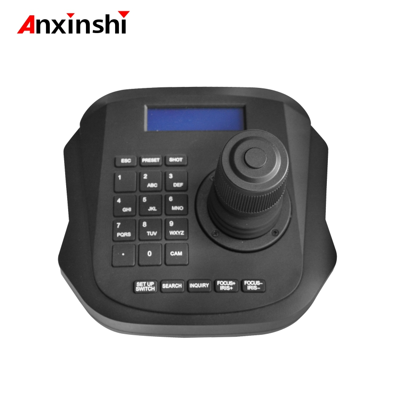 4D Network PTZ Joystick Keyboard Controller For Hight Speed Dome PTZ IP Camera To Achieve A Unified LAN ONVIF Control Device