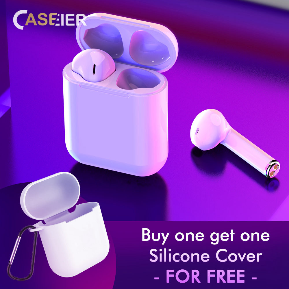 CASEIER I7S Auricolari Bluetooth Auricolare Senza Fili di Ricarica ... a7901732e150