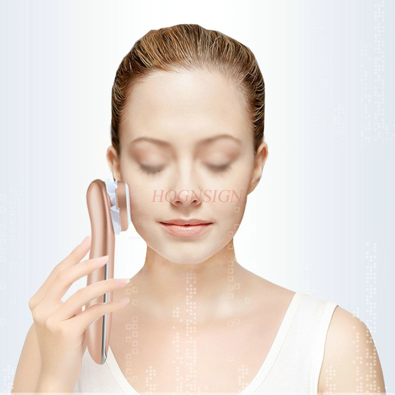 Import instrument ultrasonic beauty instrument facial detoxification export face cleansing instrument household facial massager 628 a ultrasound ultrasound import and export cosmetic instrument face detoxification apparatus tender skin wrinkles