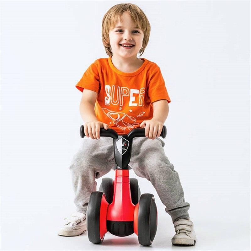 Bébé Balance vélo apprendre à marcher obtenir l'équilibre sens pas de pédale équitation jouets pour enfants bébé tout-petit 1-3 ans