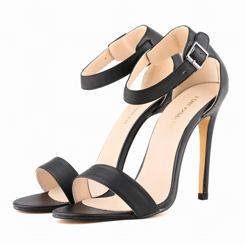 Loslandifen brand sexy women pumps high heels sandals shoes woman party wedding dress OL ankle strap buckle stiletto ladeis shoe