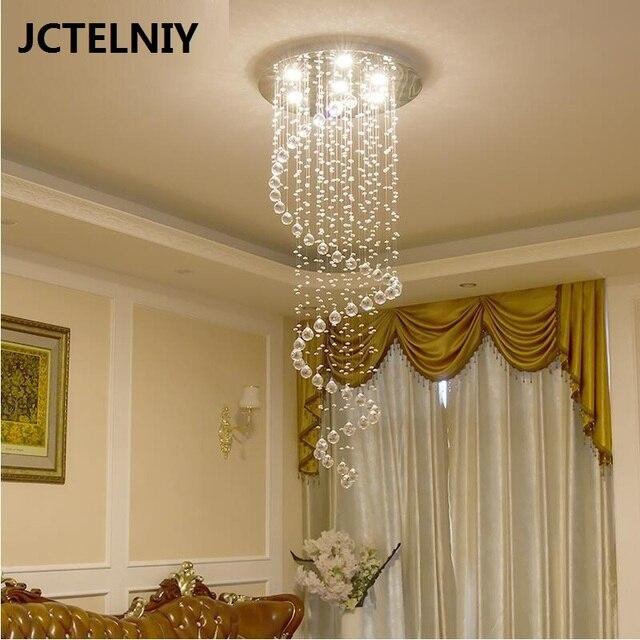 Lighting Basement Washroom Stairs: Stair Pendant Light Rotation Stair Lamp Long Pendant Light