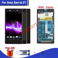 For SONY Xperia Z1 LCD Display+Touch Screen For Sony Xperia Z1 L39H C6902 C6903 C6906 C6943 lcd Display Touch Screen Replacment
