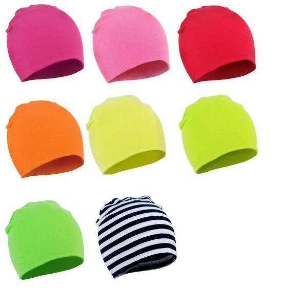 2019 New Spring Autumn Warm Cotton Baby Hat Girl Boy Toddler Infant Kids Caps Brand Candy Color Lovely Baby Beanies Accessories