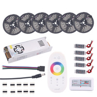 BEILAI 5050 RGB LED Strip Waterproof 5M 10M 15M 20M 30M DC 12V RGBW RGBWW LED
