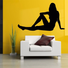 Sexy Girl Club Sticker naked Deca lHot Posters Vinyl Wall Decals Pegatina Quadro Parede Decor Mural Sexy Girl Sticker