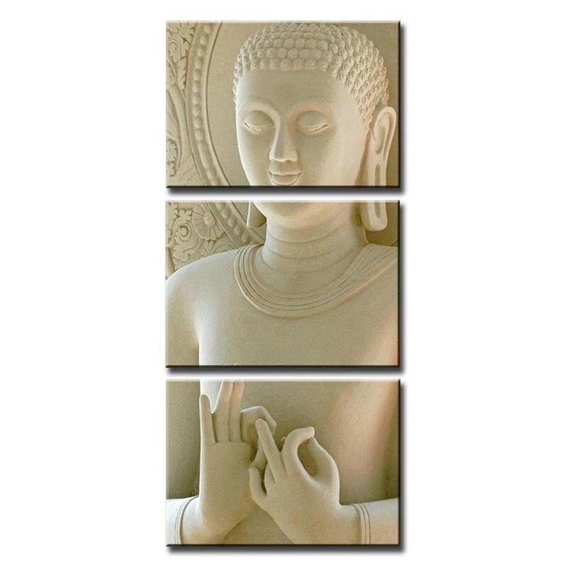 3 Pannelli Su Tela Stampe Zen Arte Della Decorazione Della