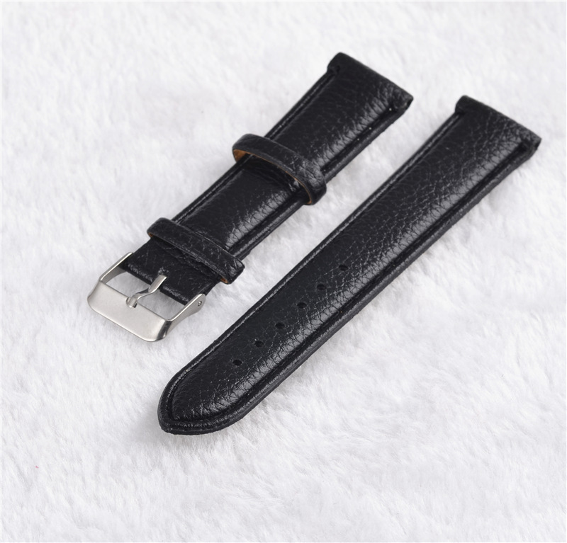 Pu leather watchband 20mm black and brown band fashion popular clock band for watch 2017 New arrived rochas rochas rbe rs263 a1 black brown black and brown