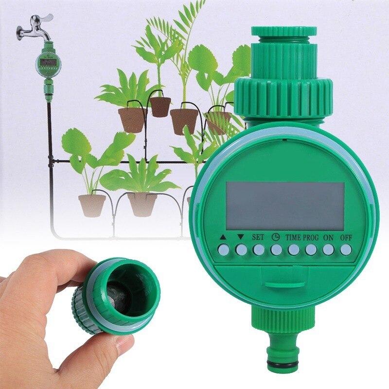 Garten Bewässerung Controller Automatische Elektrische Digitale Garten Bewässerung Timer Intelligente Blumen Anlage Elektronische Wasser Timer