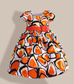 New Girls Dress Geometric Print Short Sleeve Party Wedding Pageant kids clothes 3-7 Years ropa de ninas