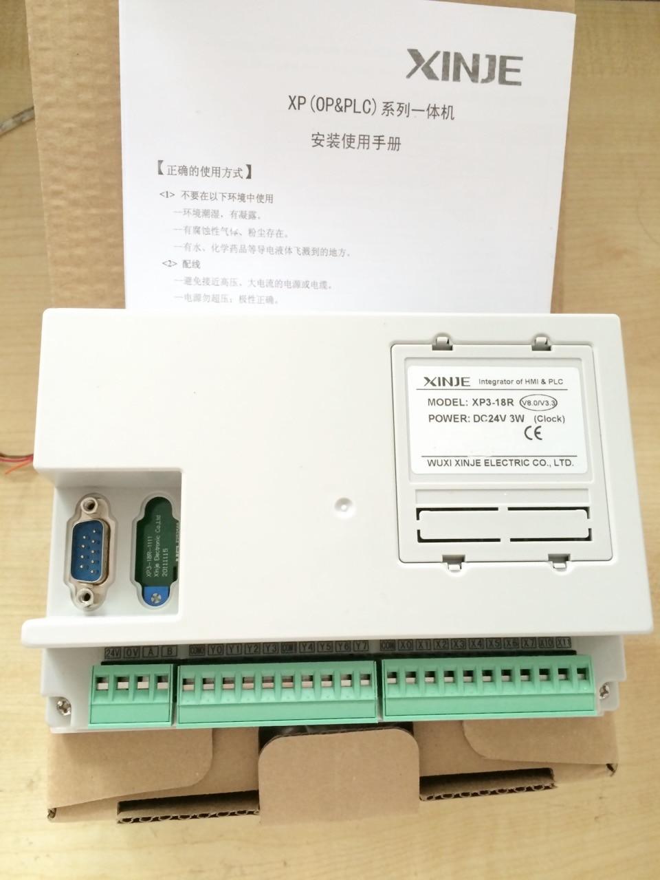 XP3-18RT XINJE Integrator of PLC/&HMI OP330 operate panel XC3 10DI//8DO new in box