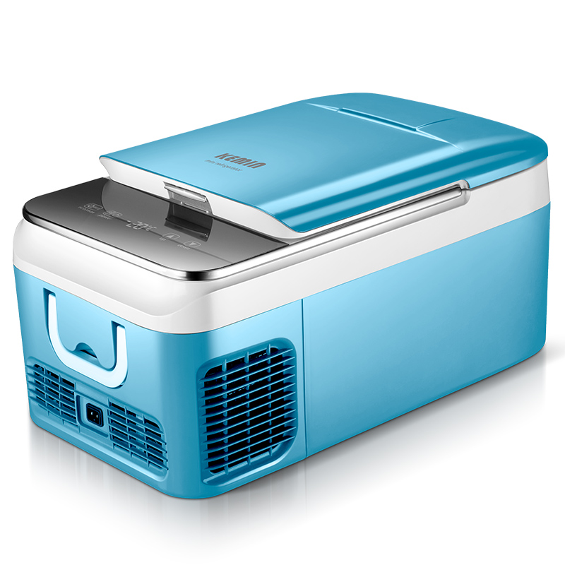 -20Celsius 18/26L Portable Mini Fridge Compressor Car Home Dual-use Frozen Refrigerators Car Electrical Cooler Box Small Freezer