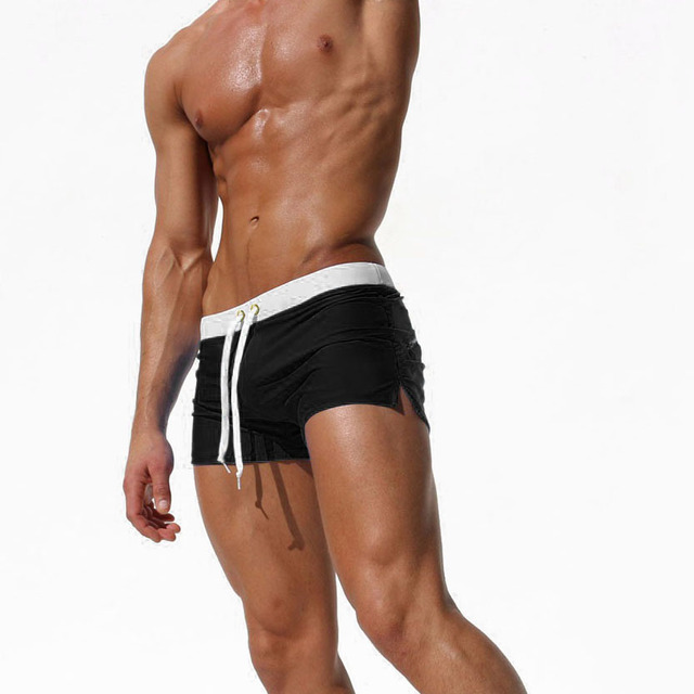 Summer Men Boxer Shorts Swimsuit