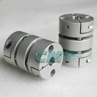 New Flexible Aluminum Alloys Double Diaphragm Coupling For Servo And Stepper Motor Couplings D 39 L