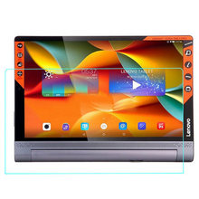 Excessive High quality 9H Tempered Glass Display Protector for Lenovo Yoga Tab three Plus 10 Pill 10.1 Inch  Alcohol Material +Mud Absorber