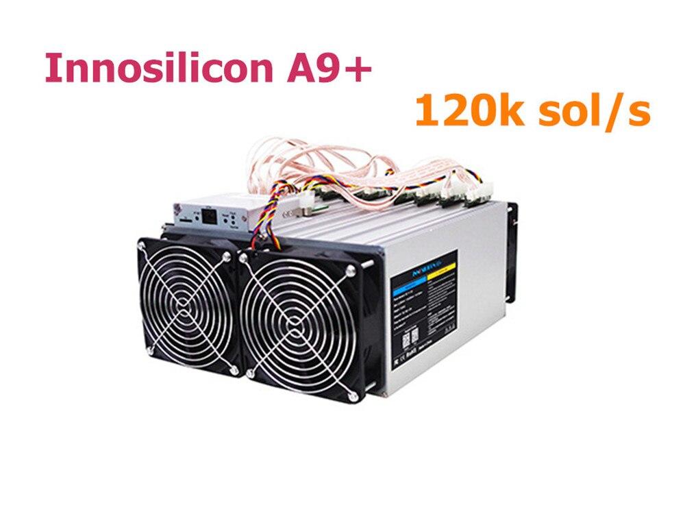 Utilisé Innosilicon A9 + ZMaster 120 k sol/s avec PSU Equihash Asic Miner Zcash ZCL ZEC mieux que Antminer Z9 S9 S15 S11