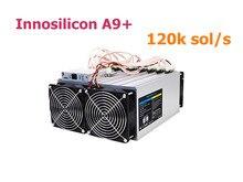 Verwendet Innosilicon A9 + ZMaster 120k sol/s Mit NETZTEIL Equihash Asic Miner Bergbau Zcash ZCL ZEC Besser als Antminer Z9 S9 S15 S11