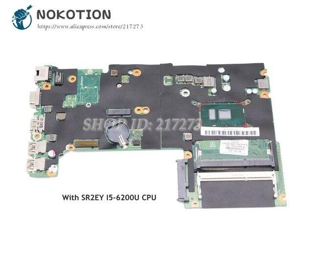 NOKOTION dla płyty głównej HP Probook 440 G3 830937-601 830937-001 DA0X61MB6G0 REV G I5-6200U CPU DDR3L