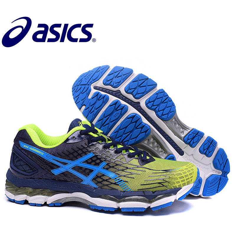 2018 ASICS GEL-KAYANO 17 Sneakers Sports Shoes Stability Running Shoes ASICS Sports Shoes Sneakers Outdoor Athletic GQ цена