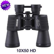 Haute De Marque fois 10X50 HD étanche portable jumelles télescope chasse télescope tourisme optique sports de plein air oculaire