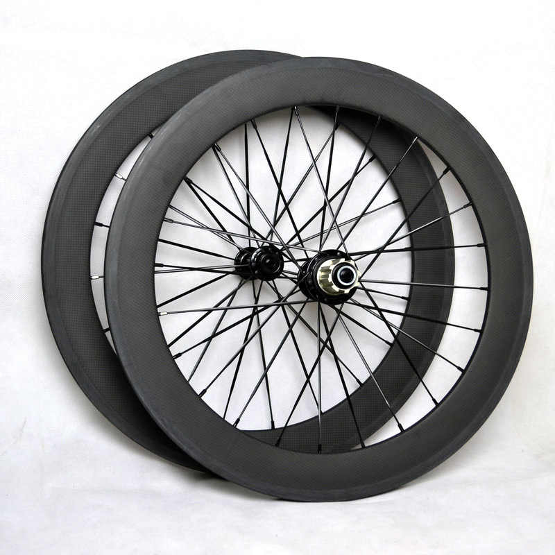 SEMA T700 20 inch 451 bicycle wheels rims with powerway r13 road bikes carbon best quality wheelset clincher parts 80823 carbon wheels tubular clincher powerway r13 hub wheels 38mm 50mm 60mm 88mm road carbon bicycle wheels cheapest sale