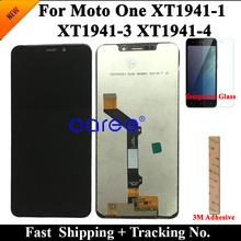 Wyświetlacz LCD dla Moto jednym LCD XT1941 LCD dla Moto jeden XT1941-1 XT1941-3 XT1941-4 ekran LCD dotykowy digitizer montaż tanie tanio 1280x720 Pojemnościowy ekran For Moto One Motorola 3 Nowy LCD i ekran dotykowy Digitizer ATELKOM Black 6 MONTHS For Moto one XT1941-1 XT1941-3 XT1941-4