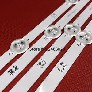 Image 2 - חדש 12 PCS R1 L1 R2 L2 LED רצועת החלפת 47LA6200 47LN5400 6916L 1527A 6916L 1528A 6916L 1547A 6916L 1529A