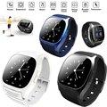Новый Изысканный Дизайн Bluetooth 4.0 Smart Watch Светодиодный Дисплей Smart Watch With Dial Вызова SMS Напомнив Music Player Anti-потерянный