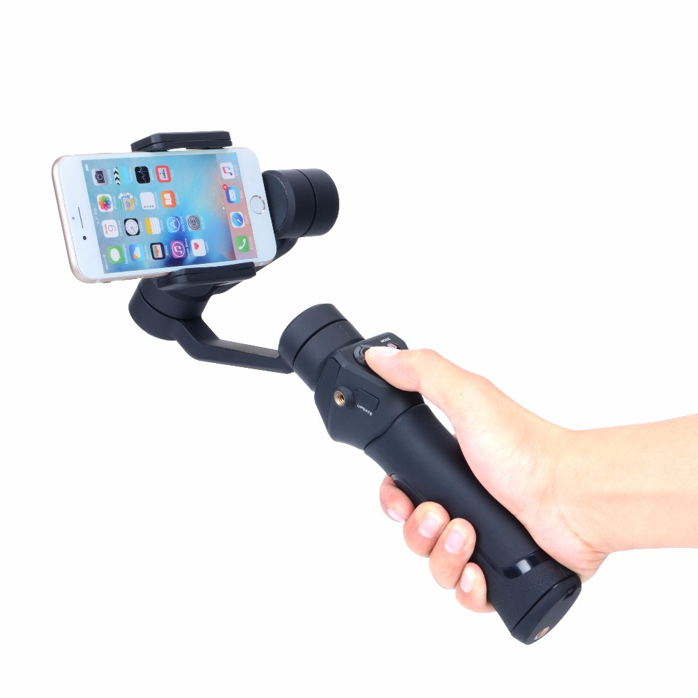 3-Axis Handheld Smartphone Gimbal Stabilizer action camera selfie phone steadicam for Smooth Q iPhone7 Plus Samsung S7 RC Parts
