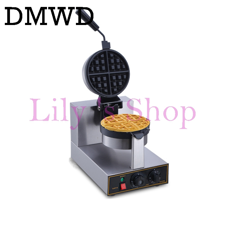Commercial Stainless Steel Electric Egg cake muffin oven QQ Egg Waffle Maker waffle machine coffee store 110V 220V EU US plug цены