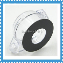 2pcs Free shipping 22mm Push button transparent  protection cover