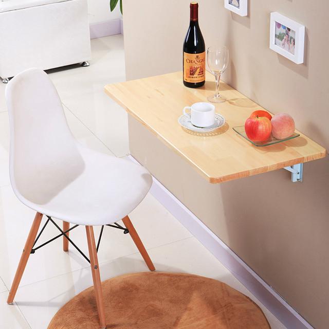 Moda de luxo, simples moderno mesa do computador portátil mesa preguiçoso dobrável pendurado na parede childern aprendizagem mesa frete grátis