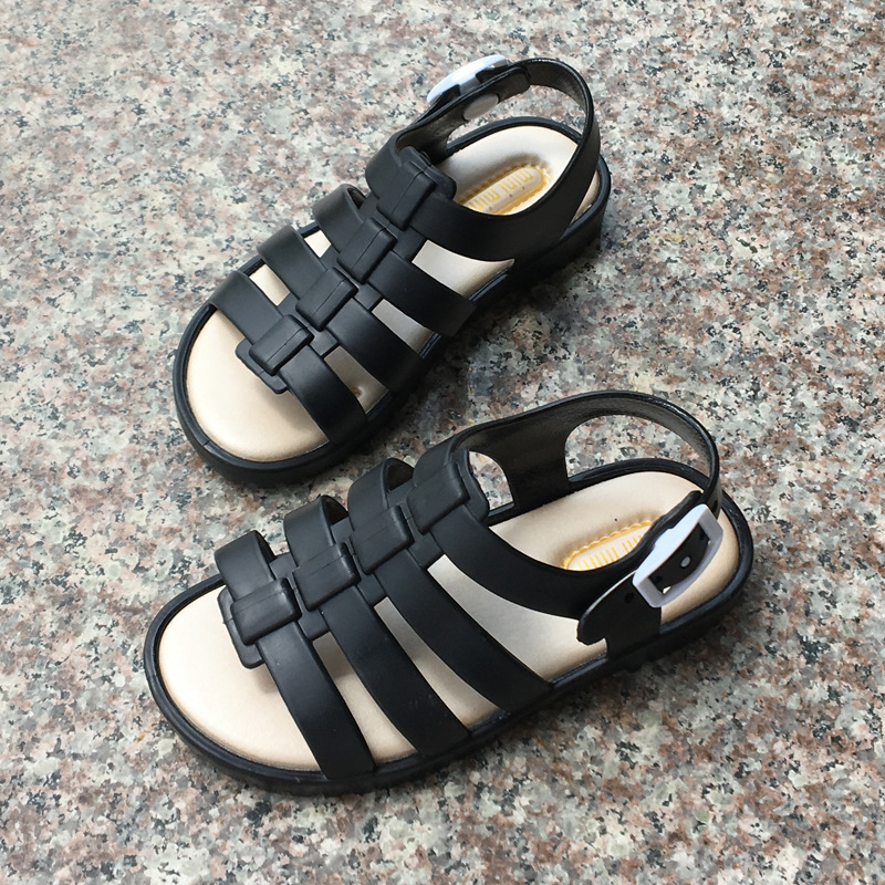 Hot Mini Melissa 2018 Summer New Roman Shoes Girls Sandals