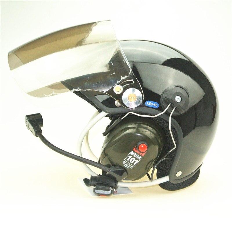 Casque paramoteur 3 M casque de parapente alimenté casques PPG vente directe d'usine