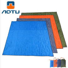 Outdoor Picnic BBQ Camping Pad AT6210 Mat 215x215cm Moisture Waterproof Oxford Groundsheet Sunshade Beach Tent Awning