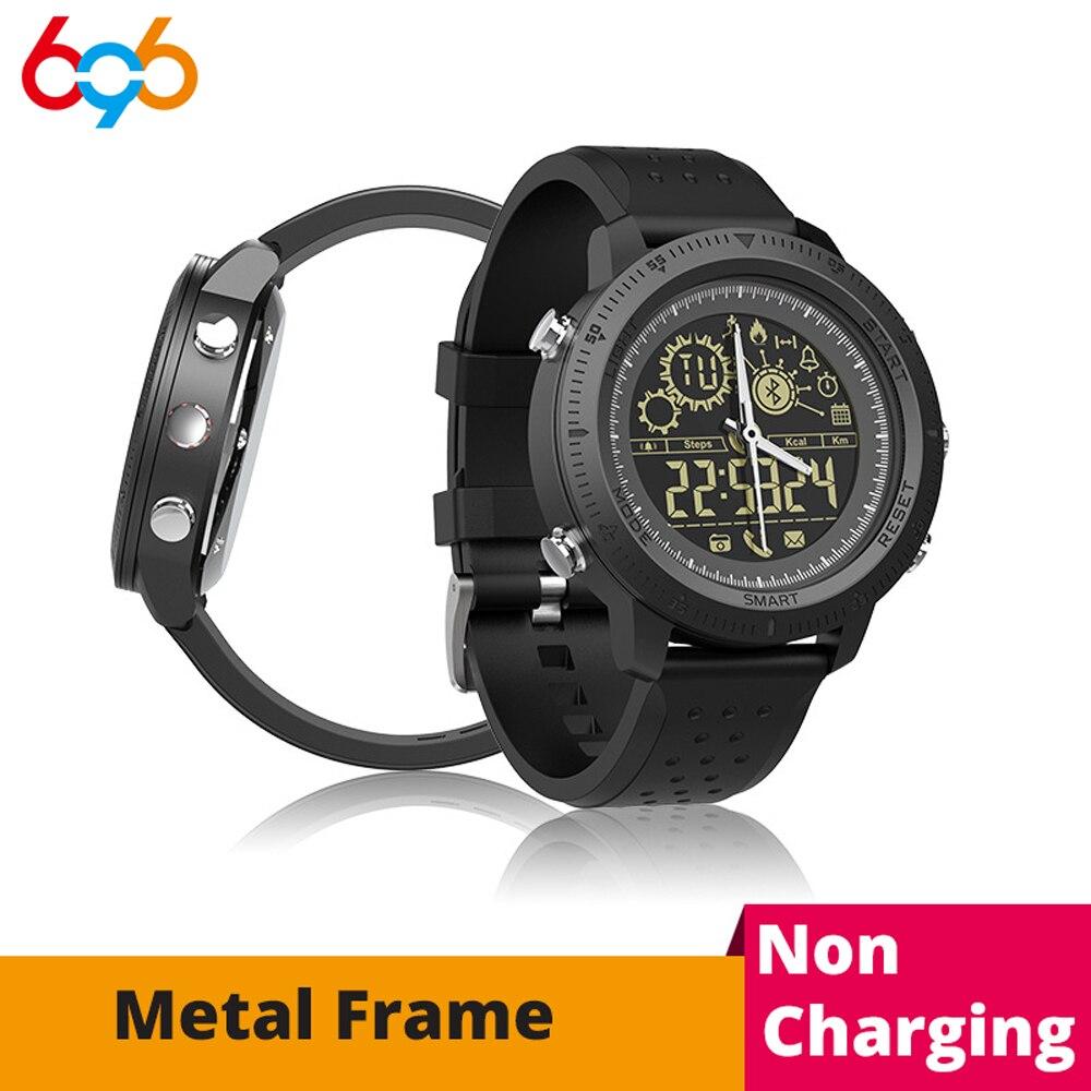 696 NX02 Smart Uhr Männer IP68 Wasserdichte Armbanduhr Bluetooth 4,0 Sport
