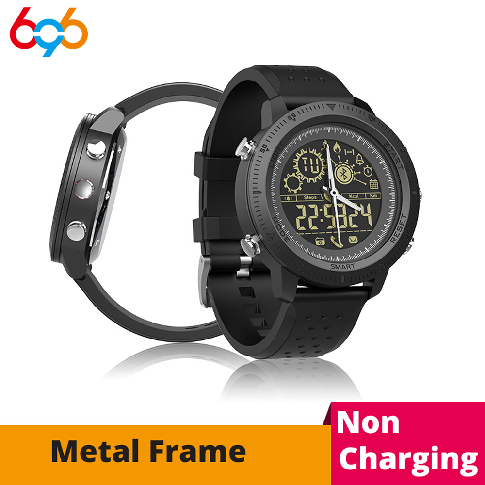 696 NX02 Smart Watch hombres IP68 reloj impermeable Bluetooth 4,0 deportes