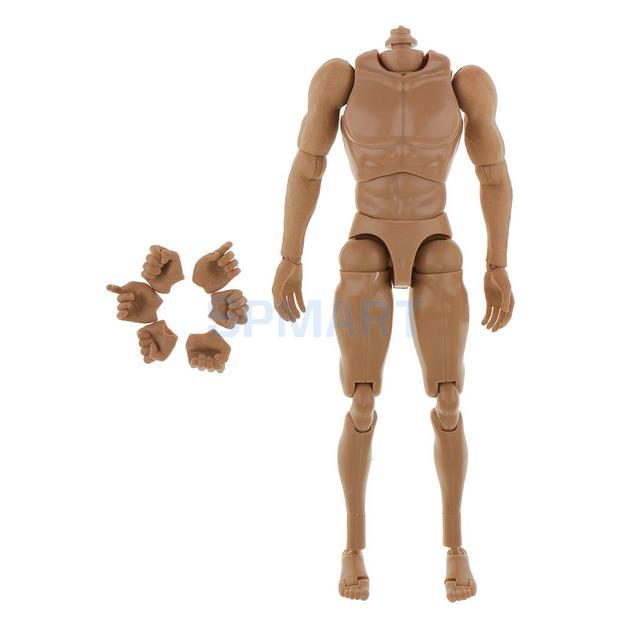 1/6 muskel Nude Körper Figur ohne Hals für 12\' Hot Toys Leiter ...