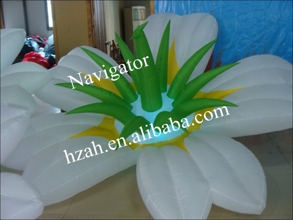 LED Inflatable Flower For Stage Decoration