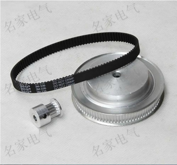 3d printer parts engraving machine accessory synchronous pulley belt kit deceleration 6:1 pitch: 3 m top quality free shipping 3 d printer accessory createbot single head throttle valve 6 13 13mm top quality free shipping