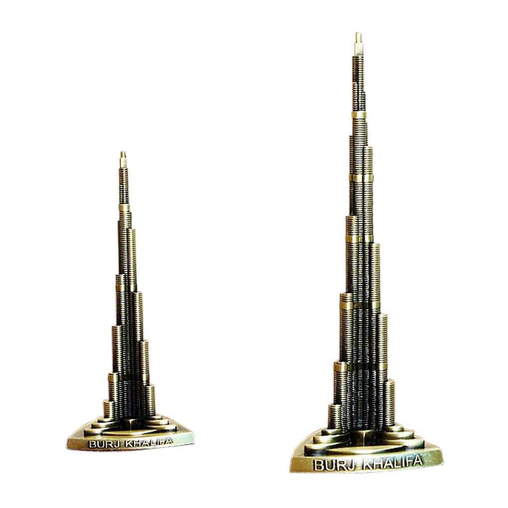 2019 New Burj Khalifa Dubai Worlds Tallest Building Architecture Model Decoration 13/18cm