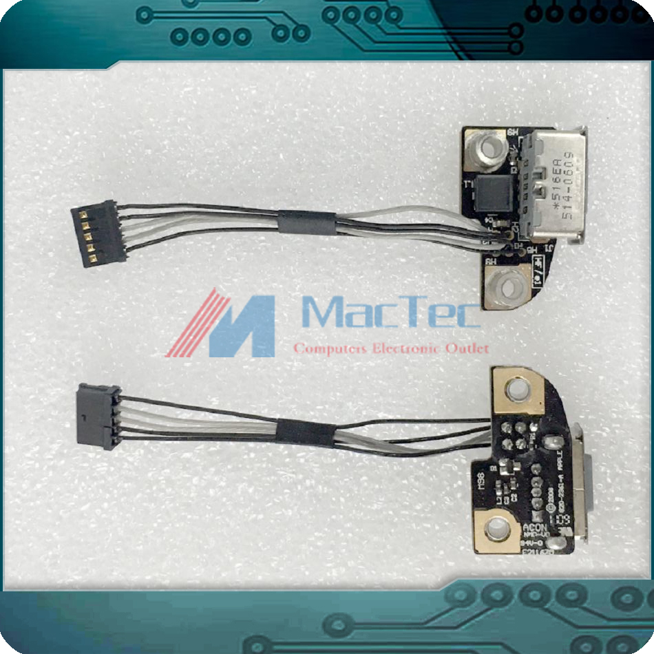 NEW ORI 820-2361-A DC-IN Jack Power Board for Macbook Magsafe DC Jack 13 A1278 (2008) 15 A1286 (2008) 17 A1297 (2009-2011)
