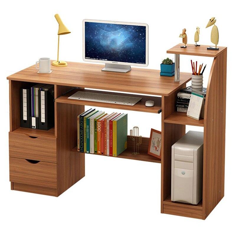 Современный модный компьютерный стол, офисная компьютерная подставка, письменный учебный стол для студентов, высококачественный учебный с