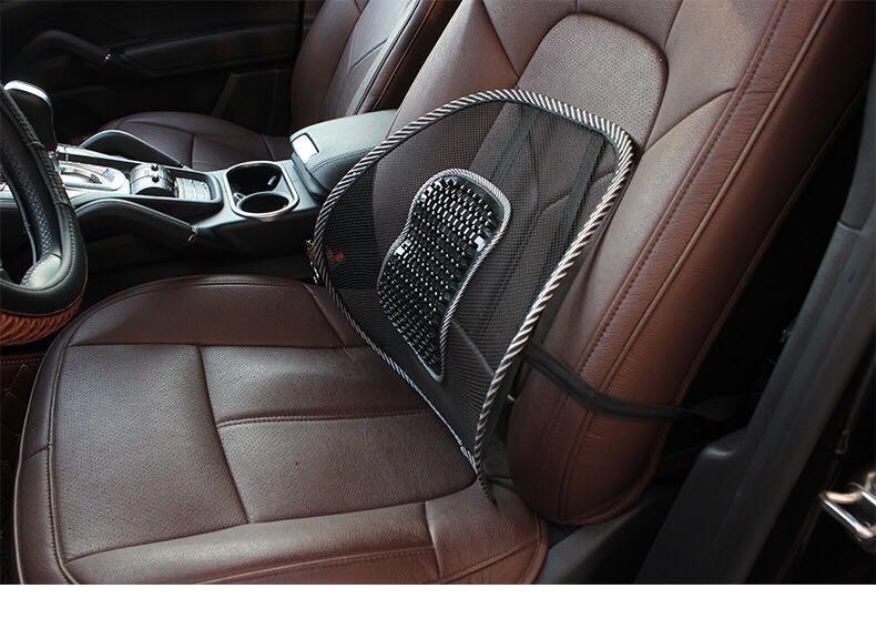 1 Pc Auto Seat Stoel Rugkussen Terug Lumbale Massage Voor Ford Focus Kuga Fiesta Fusion Mondeo Renault Sceni C1 2 C3 Modus