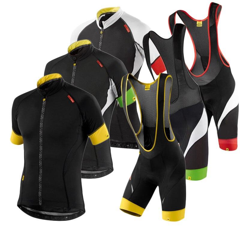 864ebb7df Mavic Cycling Jersey 2018 Summer Team Short Sleeves Quick Dry Cycling Set Bike  Clothing Ropa Ciclismo Biclcle Clothing Bib Suits