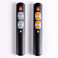 6 ปุ่มรีโมทคอนโทรลสำหรับทีวี, STB, DVD, DVB, ทีวี, HIFI, universal IR commander ใช้งานง่าย