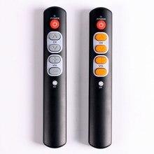 6 مفاتيح تعلم التحكم عن بعد للتلفزيون ، STB ، DVD ، DVB ، صندوق التلفزيون ، HIFI ، قائد الأشعة تحت الحمراء العالمي سهلة الاستخدام.