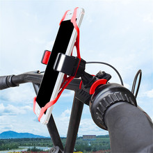 Bike Bicycle Holder Anti Slide Handle Phone Mount Handlebar  electric motorcycle universal Cellphone GPS Accessor